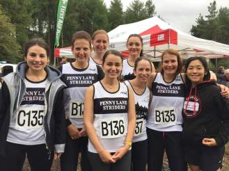 north west relays in Delamere Forest