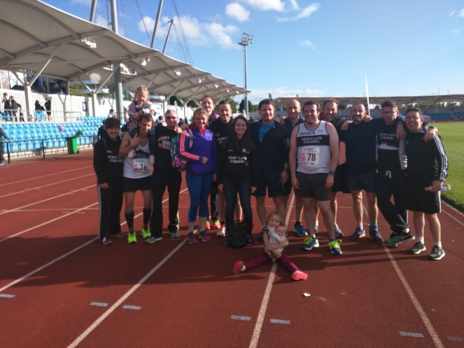 Northern relays at Manchester Sport City
